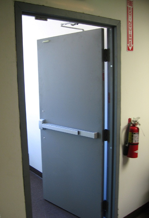 Automatic Fire Doors : Fire rated doors shutters automatic door